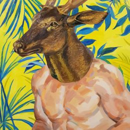 hunter's picks No.1_53.0x45.5cm_oil on canvas_ 2019